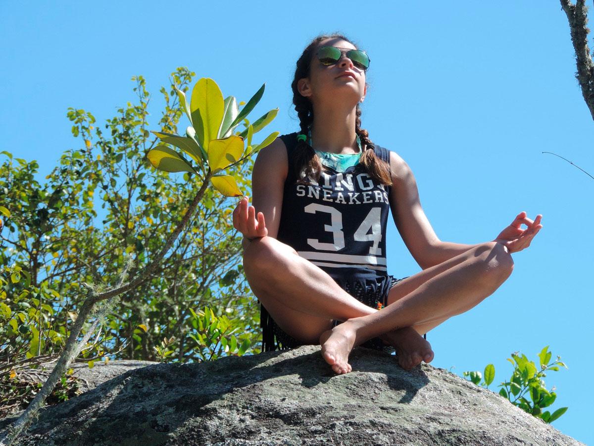 Meditation_Jugendliche
